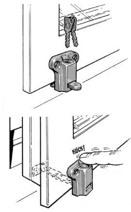 Fönsterlås assa