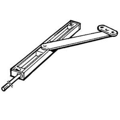 montera dörrstängare ytterdörr