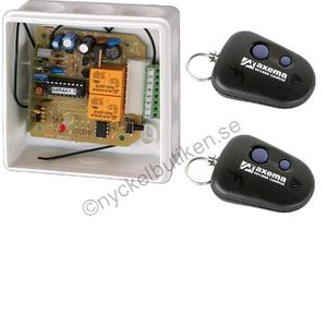 Paket radiomottagare + två sändare