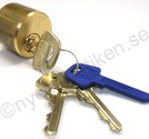 Assa lscylinder d12 1211 rund utsida